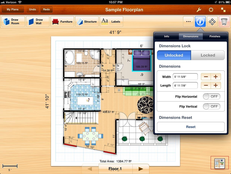 Plan Your Room App