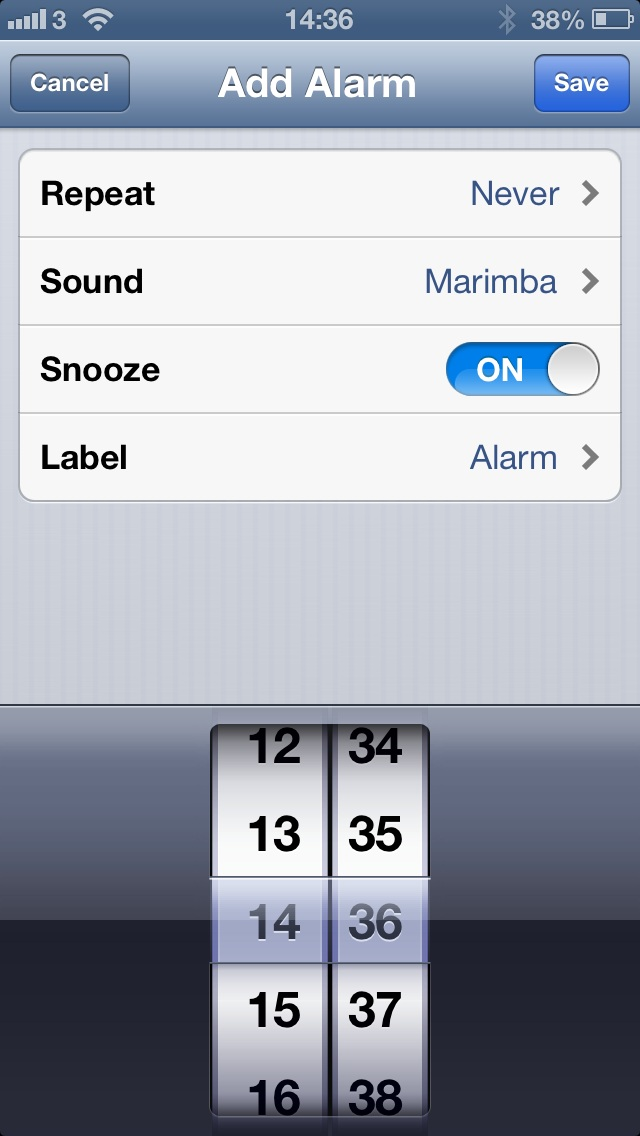 Ios Alarm Clock