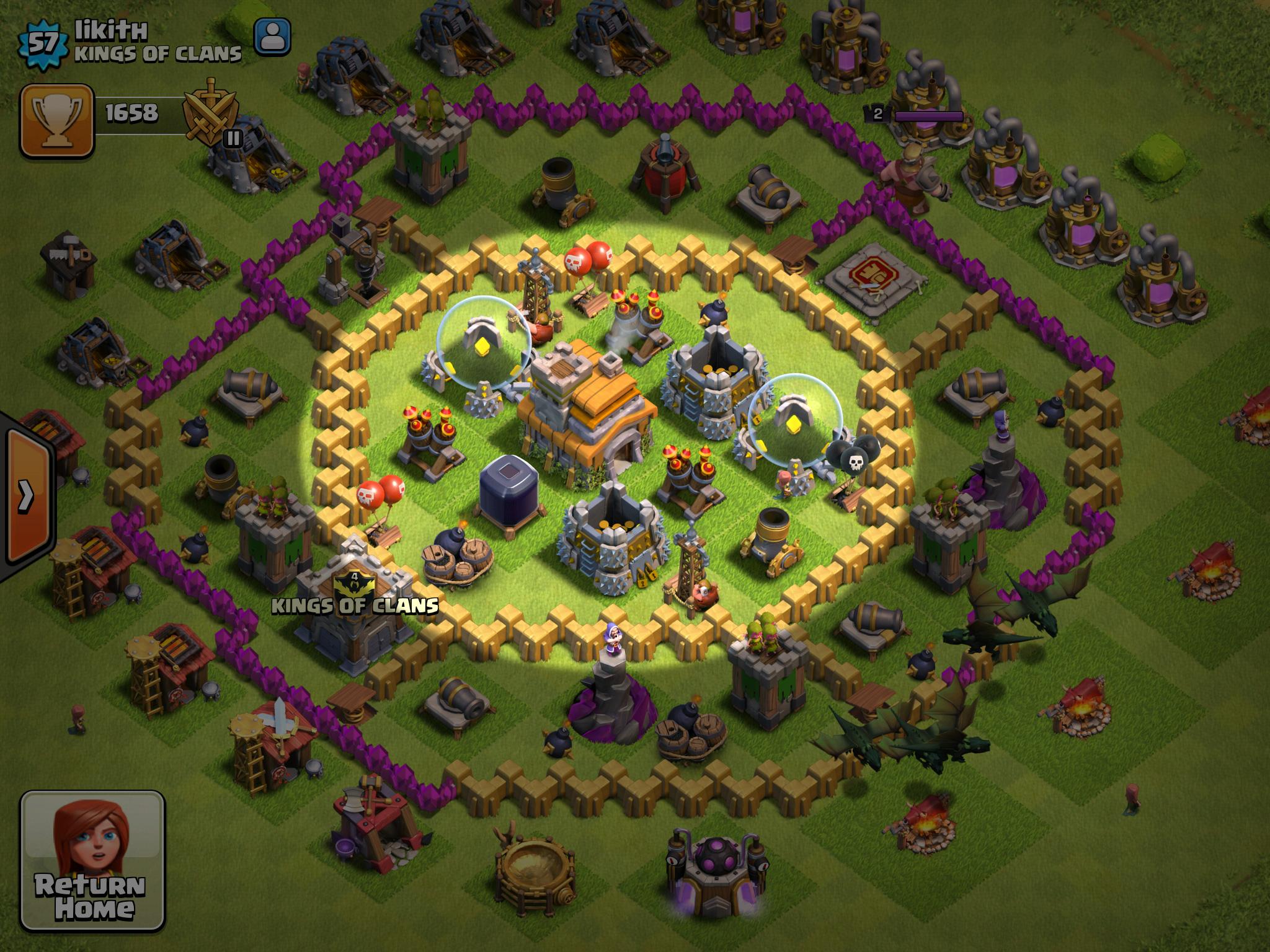 Clash Clans Layout Large