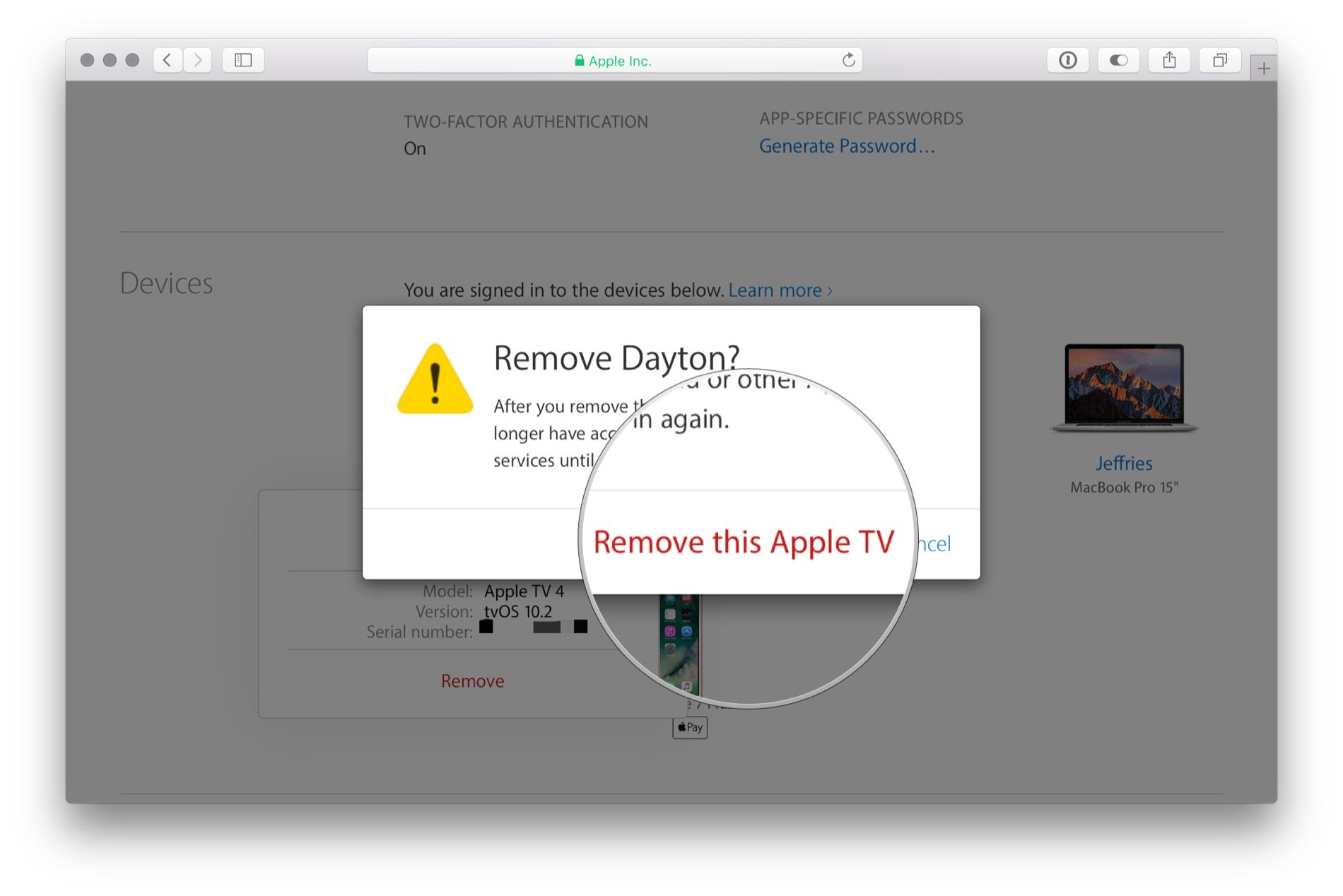 How to delete your Apple ID   iMore Click Remove this  Device  to confirm