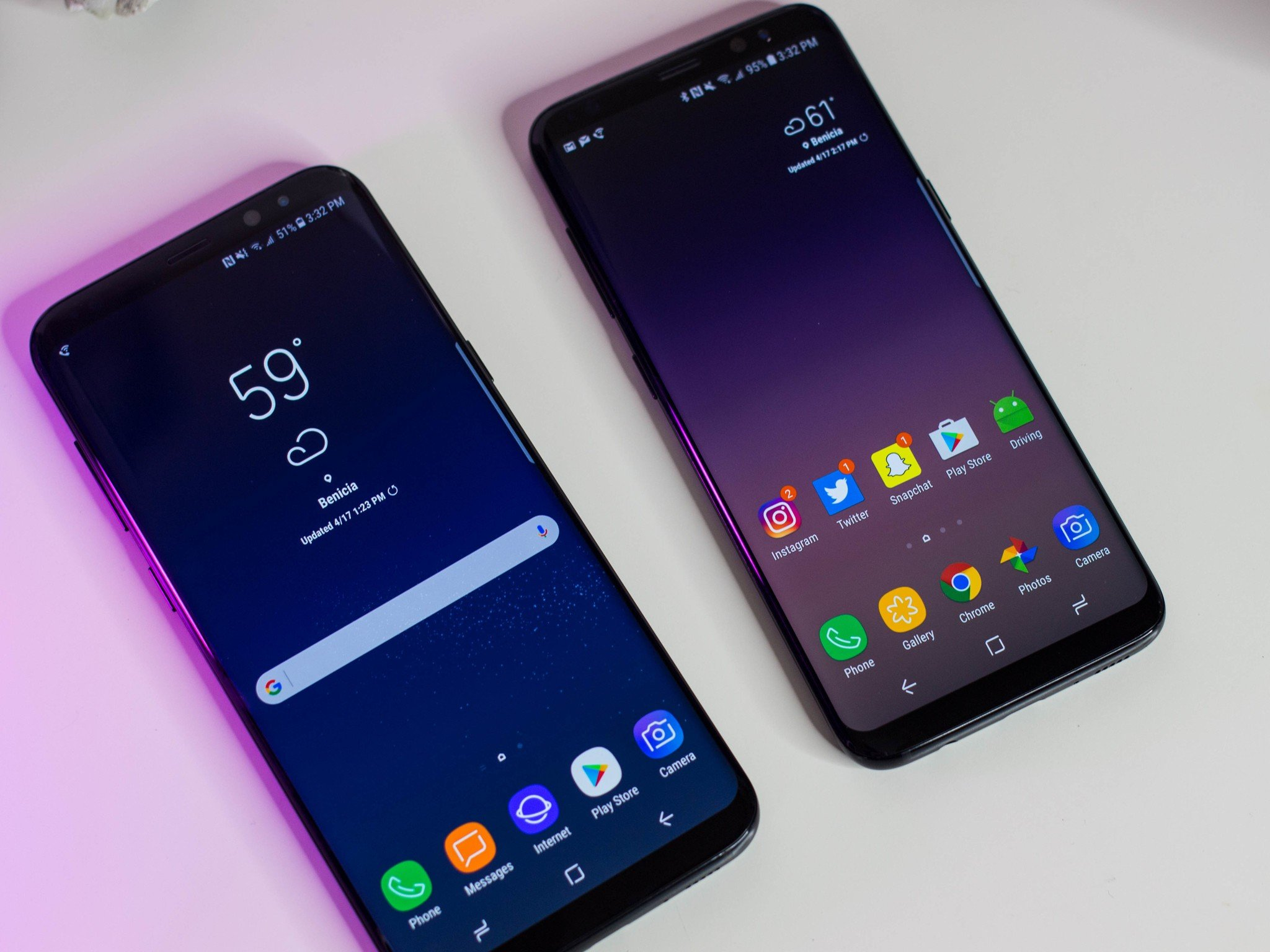 Samsung Galaxy S8 and S8+ review: Simply two of the best ...