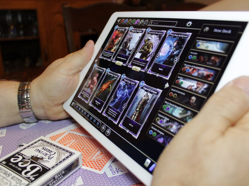 Best Card Games for iPhone and iPad   iMore Card games have been around for a long time and while collecting physical  cards can be fun in its own right  playing them on mobile allows you to  collect
