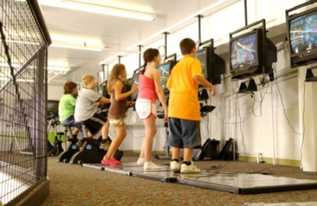 Bulldog Interactive Fitness  A Gym That Uses Video Games To Get Kids     Bulldog Interactive Fitness  A Gym That Uses Video Games To Get Kids Moving