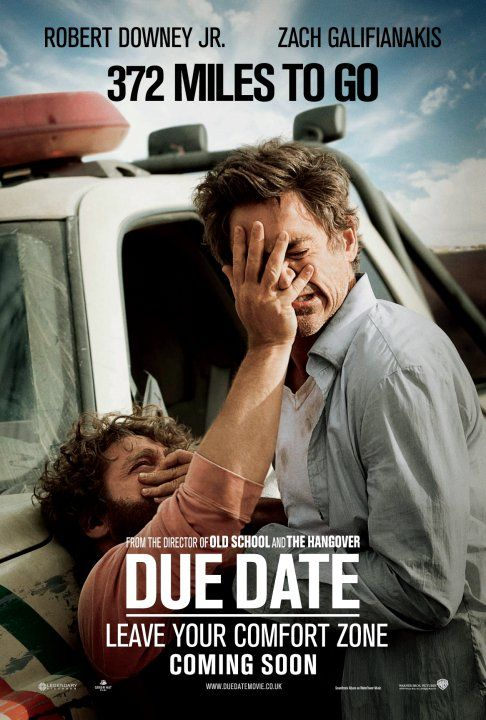 Due Date Movie Poster 11 Of 11 Imp Awards