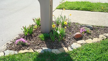 Build A Stone Border Around Your Flower Gardens And Landscape