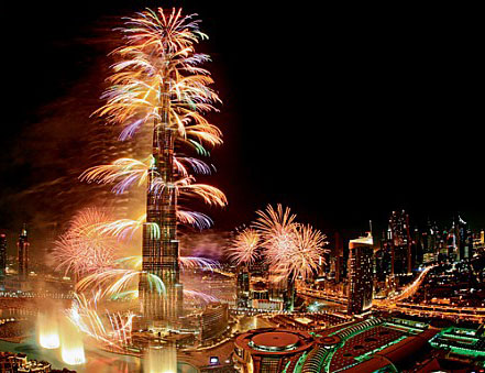 New Year 2014 Parties and Events in Dubai