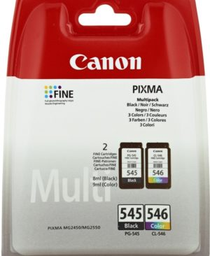 Multipack Originale Canon Nero e Colore Serie PG545-CL546