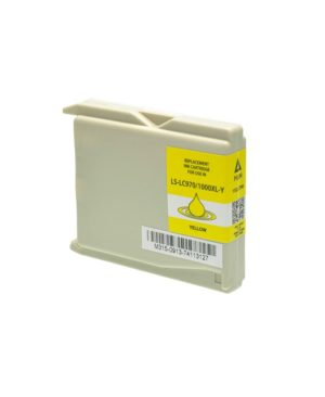 CARTUCCIA COMPATIBILE BROTHER GIALLO SERIE LC-1000
