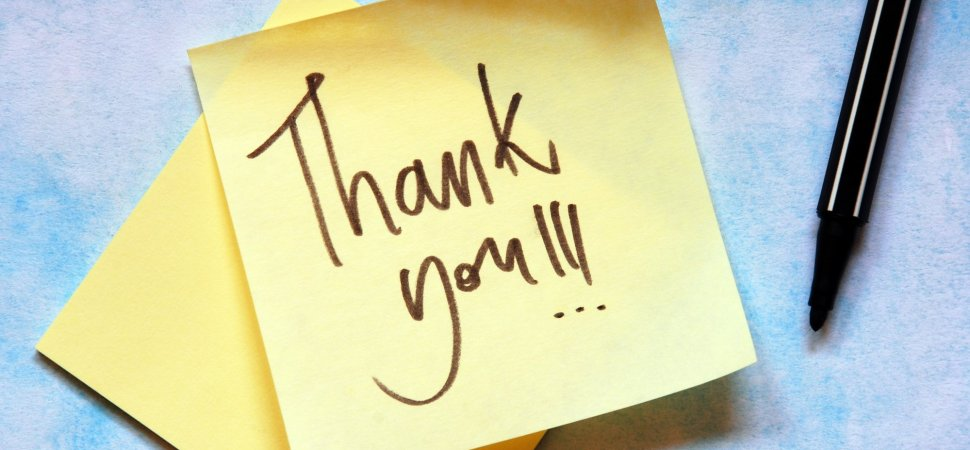 4 More Powerful Ways To Say Quot Thank You Quot Inc Com