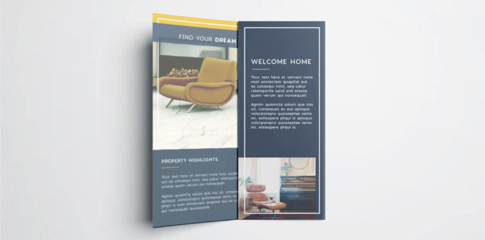 images for indesign trifold brochure template