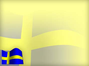 Sweden Flag 02 Powerpoint Template