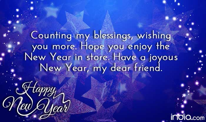 Happy New Year 2017  Best New Year Wishes  SMS  Facebook Status     Happy New Year  02  1