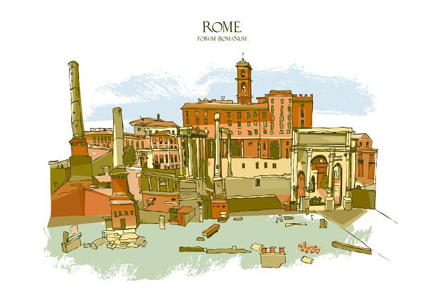 Forum Romanum - Rome Tour You Must Read And Know | Inditales