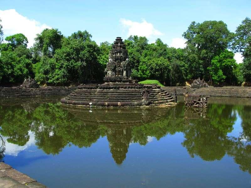 Neak Pean Temple Travel Guide Siem Reap Cambodia Tours
