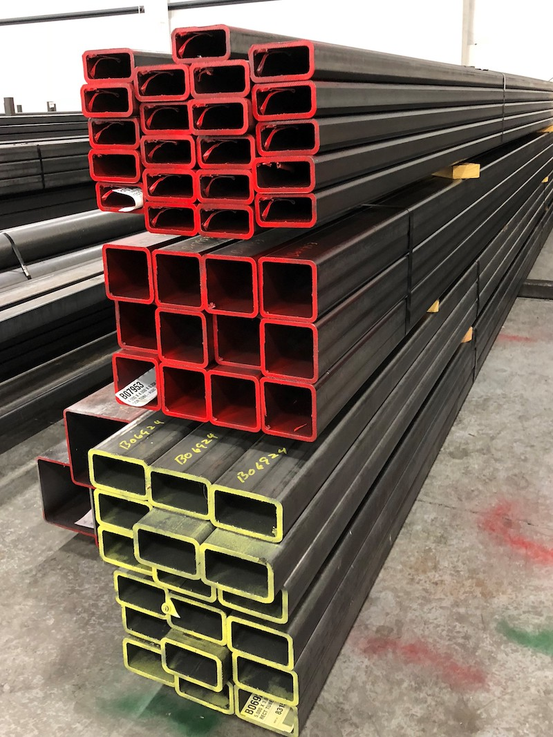 Rectangle Structural Steel Tubing A500 Rectangle Steel