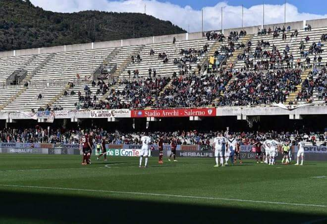 Serie B, la Salernitana batte il Latina