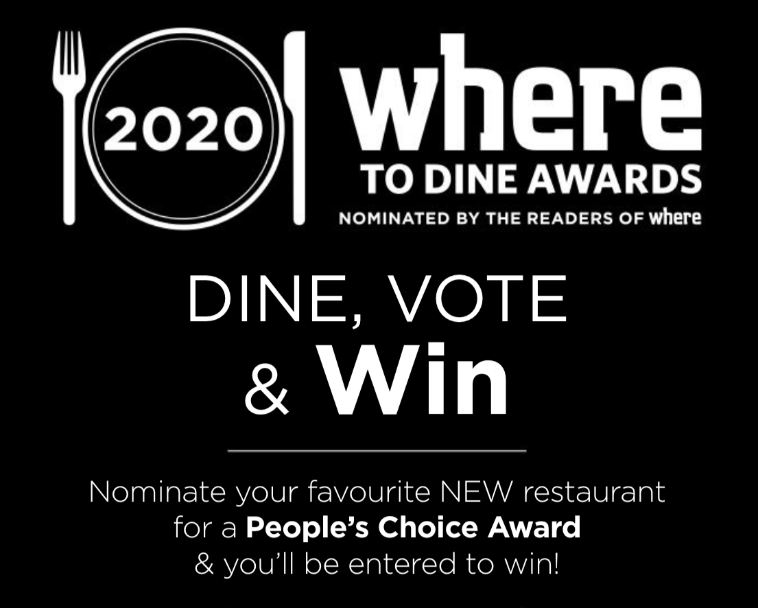 WHERE to Dine Edmonton, People's Choice Award (2020) | InfoEdmonton