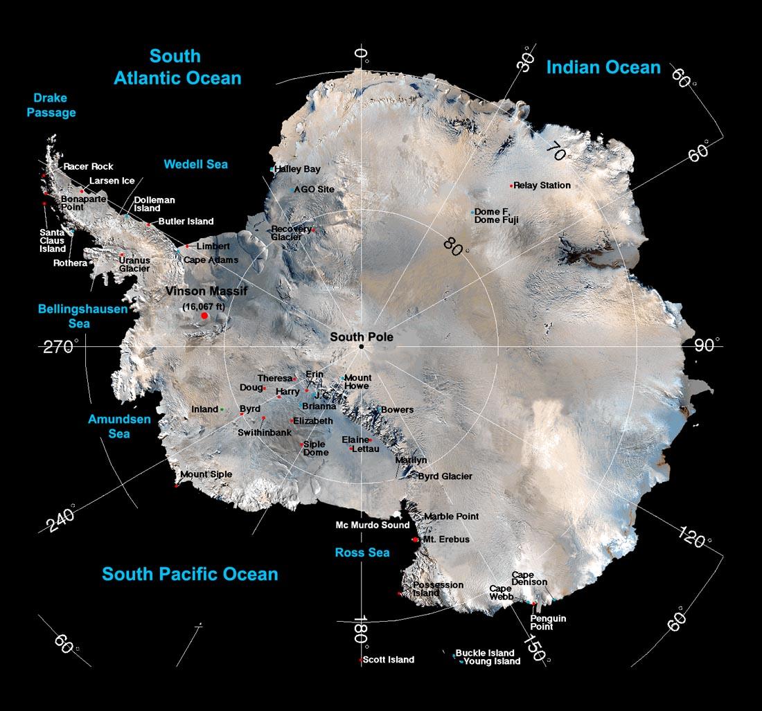 Ant 225 Rtida Continente Gelado Geografia Infoescola