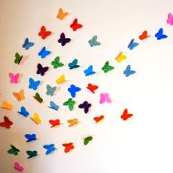 Perhoset seinällä tekevät sen itse