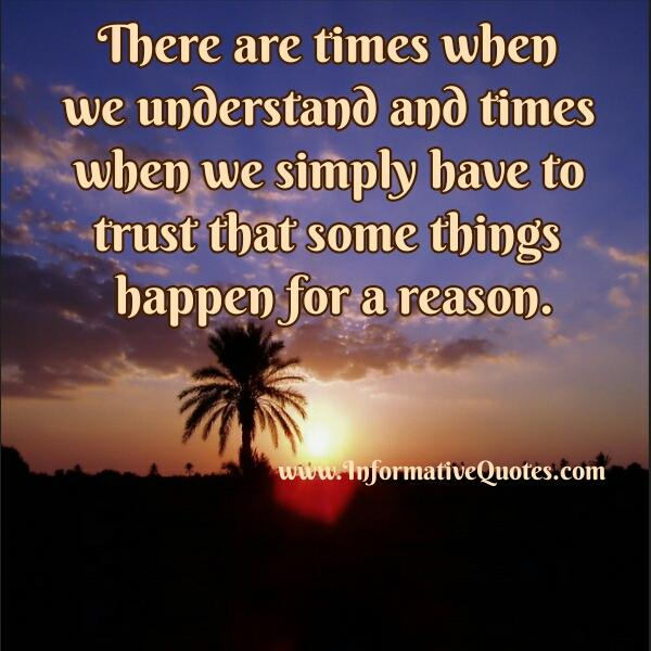 It Happened Reason Quotes Pictures