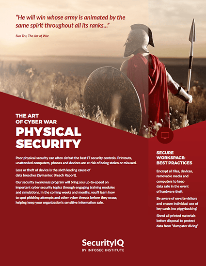 Physical Security Posters