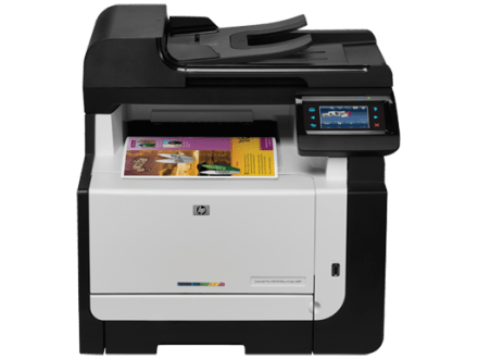 HP LaserJet Pro CM1415fnw Color Multifunction Printer Ink Cartridges     Sort By