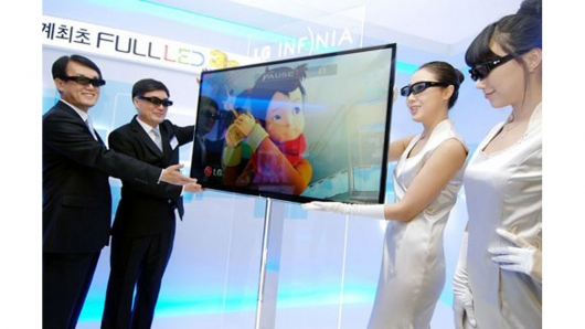 LG unveils world's first full LED 3D TV