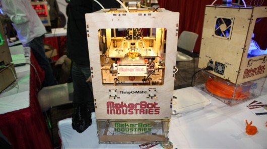 MakerBot Thing-O-Matic – the DIY 3D printer