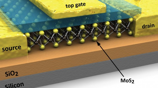 Molybdenite outshines silicon and graphene for electronic applications