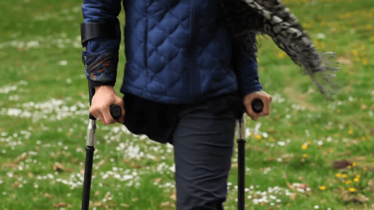SideStix crutches designed for more than just walking