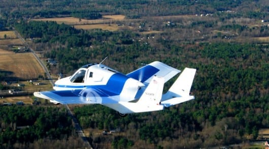 Terrafugia flying car completes first phase of flight testing