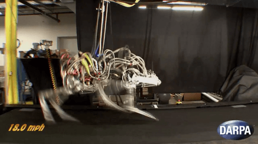 DARPA's CHEETAH smashes legged-robot speed record