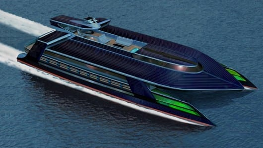 Ocean Empire LSV – designs for the world's first self-sufficient zero carbon superyacht