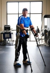 Advanced exoskeleton promises more independence for people with paraplegia