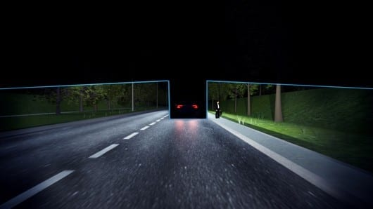 Volvo's permanent high beams keep other drivers in the shade
