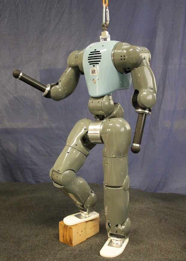 This Humanoid Robot Gets Pushed Around But Stays on Its Feet