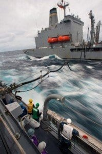 U.S. Navy Produces Fuel from Seawater