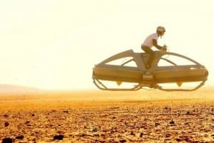 New Hover Vehicle Recalls'Star Wars' Bike