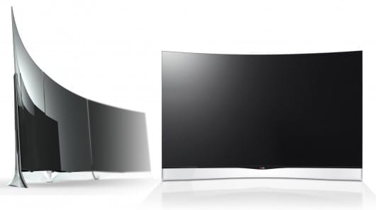 LG first to market with Curved OLED TV