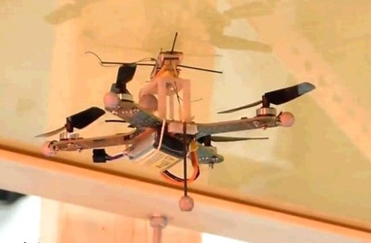 Gecko-Like Drone Can Land On Walls And Ceilings