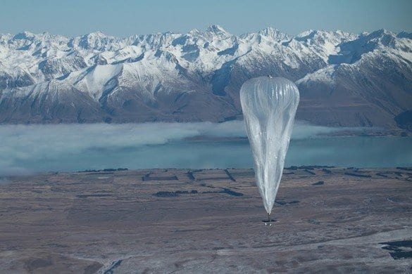The Future Of Google's Plan To Bring The Entire World Internet With Balloons