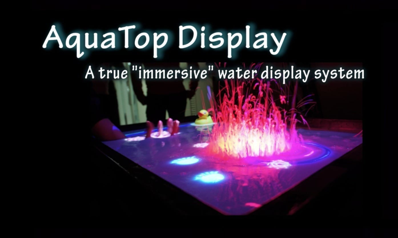 The AquaTop Interactive Display System