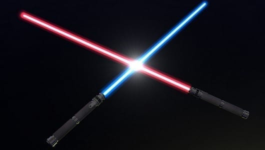 Lightsabers could become reality after incredible physics breakthrough