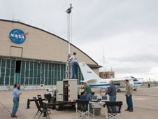 NASA Tests Radio for Unmanned Aircraft Operations