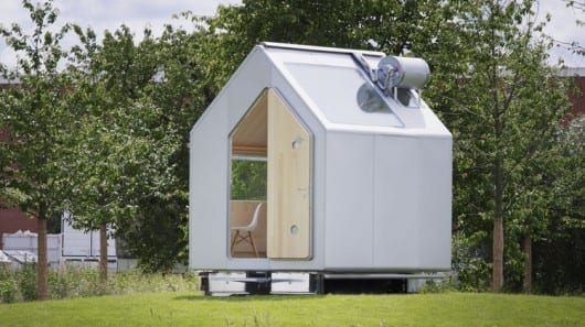 Diogene micro home pushes the boundaries for off-the-grid tiny living