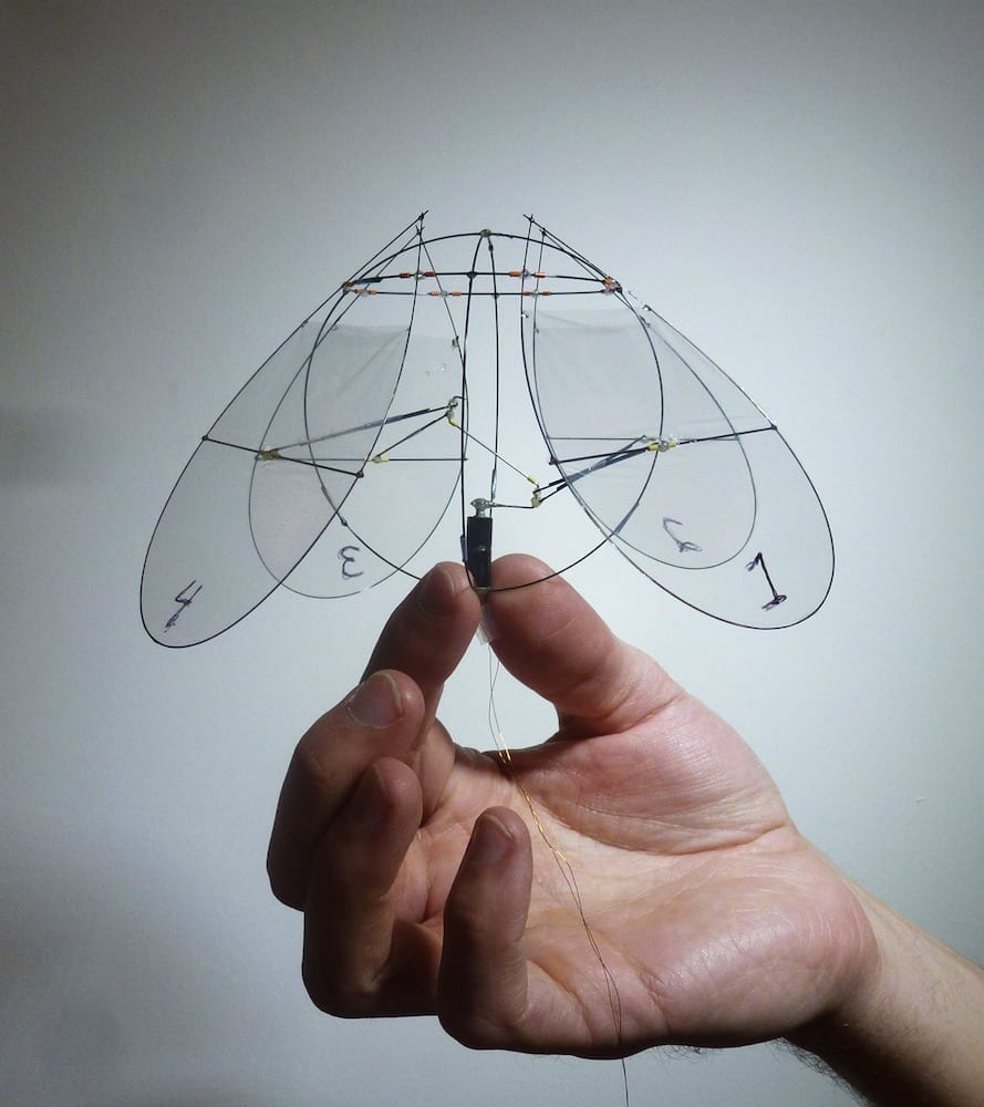 Tiny Robot Flies Like a Jellyfish