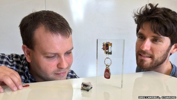 Tiny robots carry up to 2,000 times their own weight