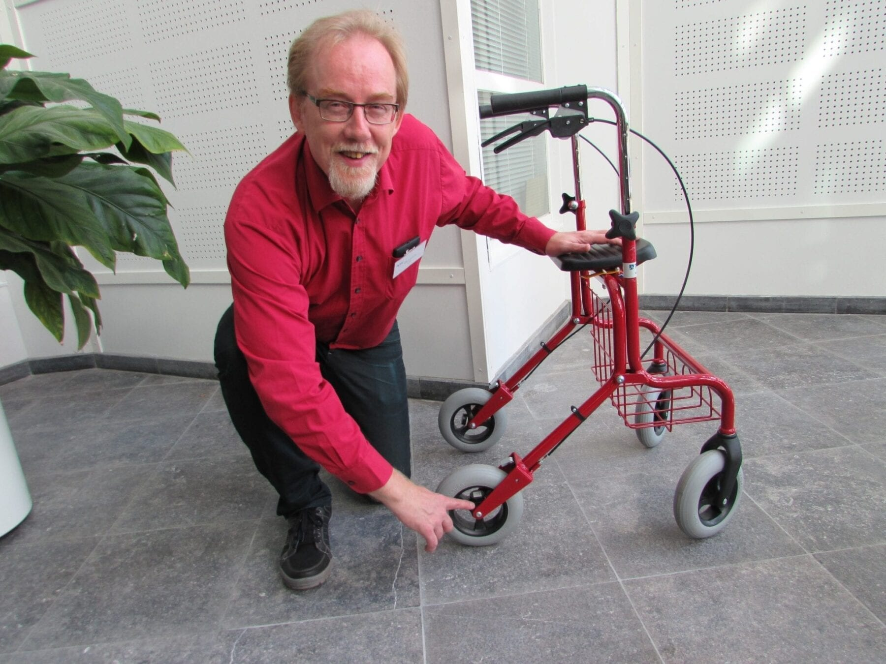 Smart walkers (rollators) for the elderly