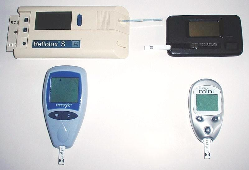 Using glucose monitors to detect other diseases