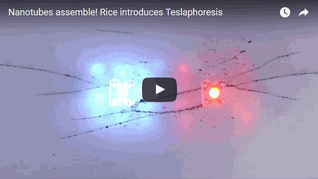 Teslaphoresis lends the the ability to massively scale up force fields to move matter remotely